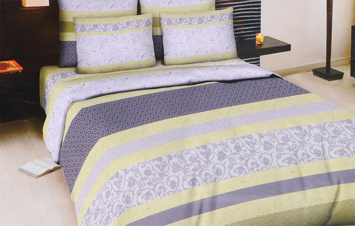Комплект белья Amore Mio Skay, евро, наволочки 70x70, цвет: сиреневый, серый, зеленый83348Комплект постельного белья Amore Mio Skay является экологически безопасным для всей семьи, так как выполнен из бязи (100% хлопок). Комплект состоит из пододеяльника, простыни и двух наволочек. Постельное белье оформлено оригинальным рисунком. Легкая, плотная, мягкая ткань отлично стирается, гладится, быстро сохнет. Рекомендации по уходу: Химчистка и отбеливание запрещены. Рекомендуется стирка в прохладной воде при температуре не выше 40°C.