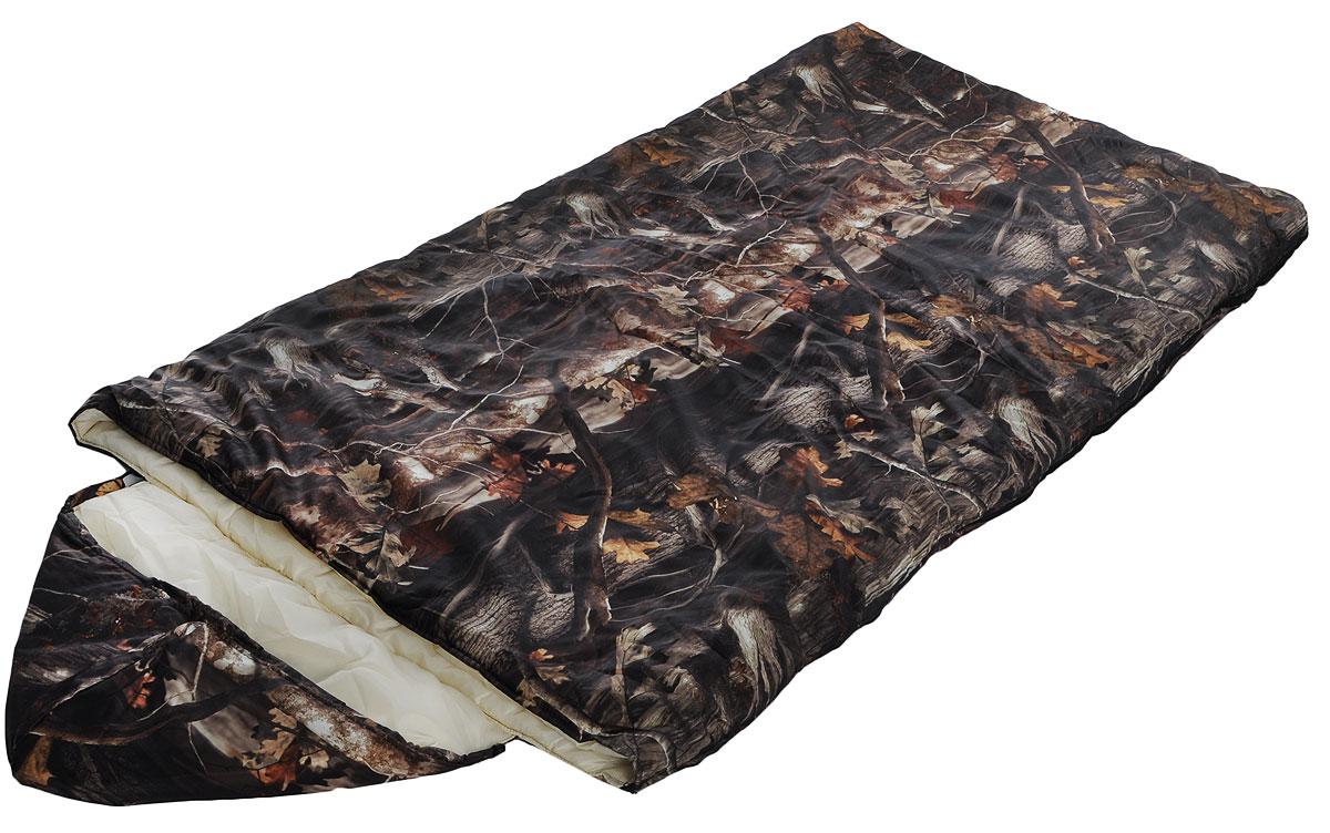 Мешок спальный Onlitop Богатырь, правосторонняя молния, цвет: хаки, 225 х 105 см915475Трехсезонный спальник-одеяло Onlitop Богатырь, выполненный из оксфорда и таффета с наполнителем из синтепона, предназначен для походов и для отдыха на природе не только в летнее время, но и в прохладные дни весенне-осеннего периода. В теплое время спальный мешок можно использовать как одеяло (в том числе и дома). Спальник-одеяло Onlitop Богатырь станет незаменимым аксессуаром для любителей туризма, рыболовов и охотников. Размер спального мешка в расстегнутом виде (одеяло): 185 х 210 см.