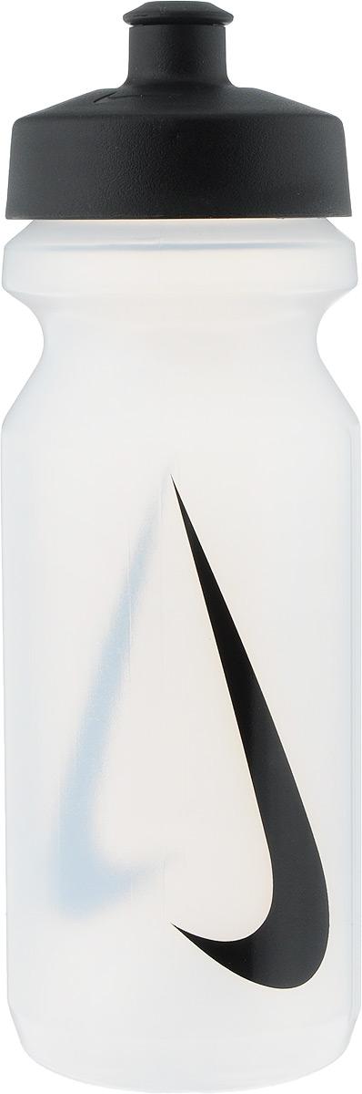 Бутылка для воды Nike Big Mouth Water Bottle, цвет: прозрачный, черный, 650 млN.OB.17.968.22Широкое отверстие позволяет удобно наливать коктейли и добавлять лед в бутылку. Просто открывающийся защитный колпачок. Широкая рельефная поверхность позволяет с лёгкостью потянуть за него и открыть бутылку. Нижняя часть конической формы позволяет легко помещать и вытаскивать бутылку из велосипедной сетки. Объём: 650мл. Высота: 21 см. Диаметр ( по верхнему краю): 6,5 см.