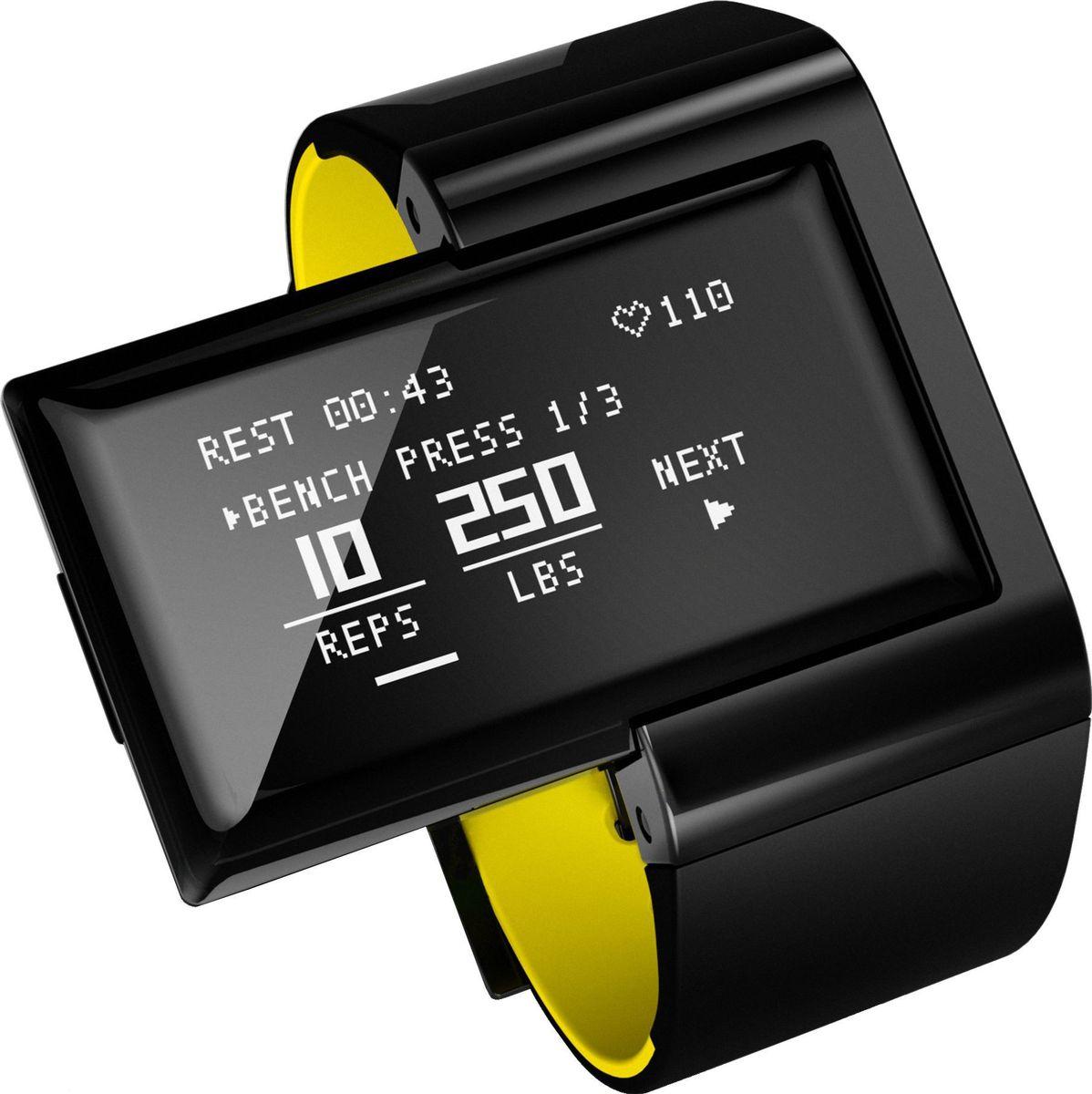 Пульсометр Atlas, цвет: зеленыйA102AW-YLWAtlas Wearables – фитнес-трекер, фиксирующий ежедневную активность и статистику тренировок. Устройство подсчитывает частоту сердечных сокращений, тип и число повторений, интенсивность нагрузки, пройденное расстояние, сожженные калории, оценивает спортивную форму владельца и даже дает советы. В памяти трекера предустановлены сведения о более сотни популярных упражнений. При этом устройство способно учиться, запоминая новые виды движений. Данные статистики синхронизируются с мобильным устройством для наглядной визуализации. ОСОБЕННОСТИ Bluetooth 4.0 позволяет синхронизировать трекер с устройствами на базе Android и iOS Оптический датчик сердечного ритма, отображающий пульс в режиме реального времени 3-х осевой акселерометр и гироскоп, определяющие микродвижения в трехмерном пространстве Режим Freestyle Mode: определяет упражнение, подсчитывает число повторений, замеряет пульс и рассчитывает количество сожжённых калорий Режиме Coach Mode: позволяет выбрать упражнение из обширной базы,...