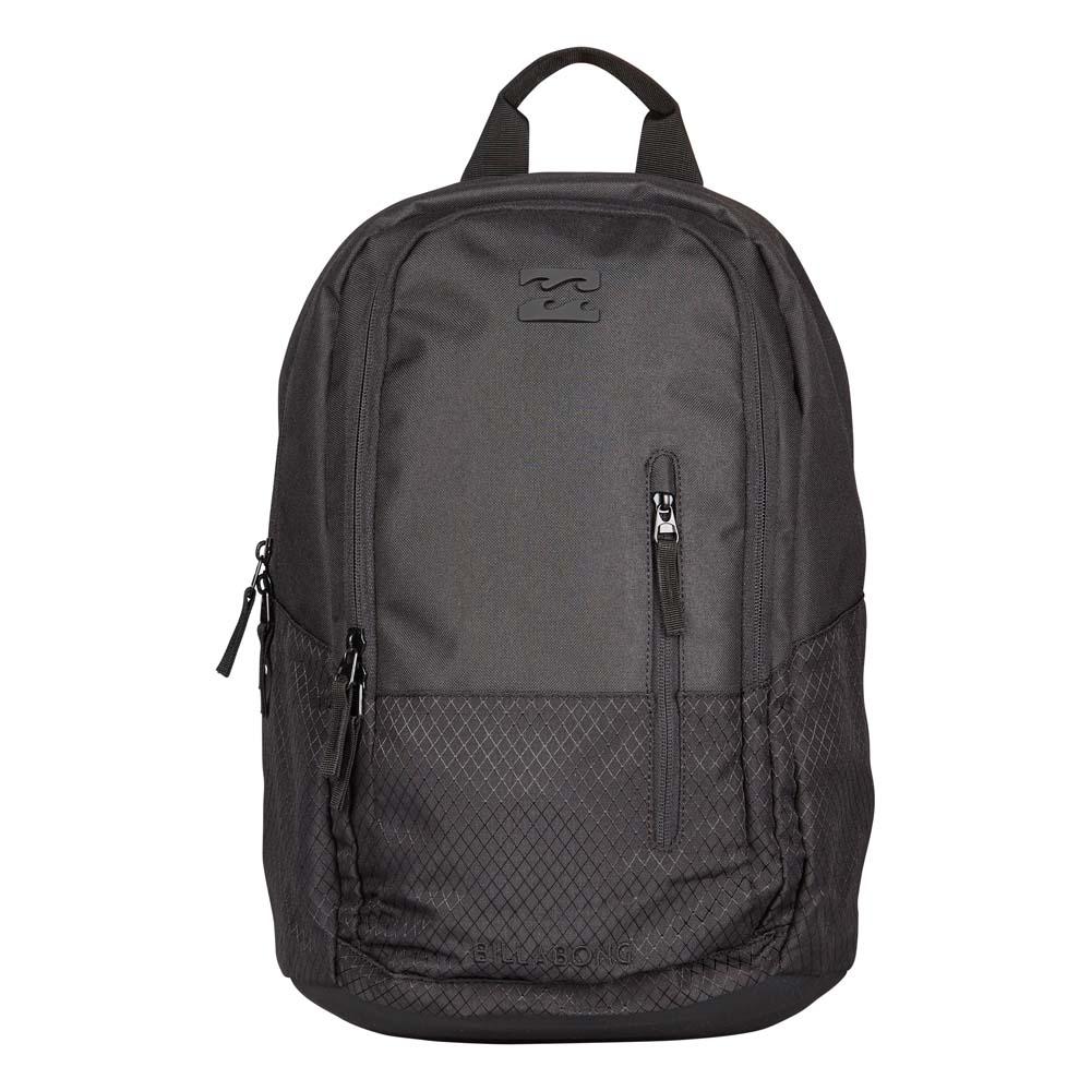 Рюкзак городской Billabong Shadow pack, цвет: черный. 360786936861532599Стильный и удобный рюкзак, компактный и достаточно вместительный. Отделение под ноутбук…