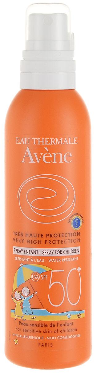 Avene Солнцезащитный детский спрей SPF50+, 200 млC22999Солнцезащитный спрей SPF 50+ с очень высокой степенью защиты от солнца разработано специально для особенно уязвимой детской кожи. Обеспечивает равномерную и полную и длительную защиту кожи.
