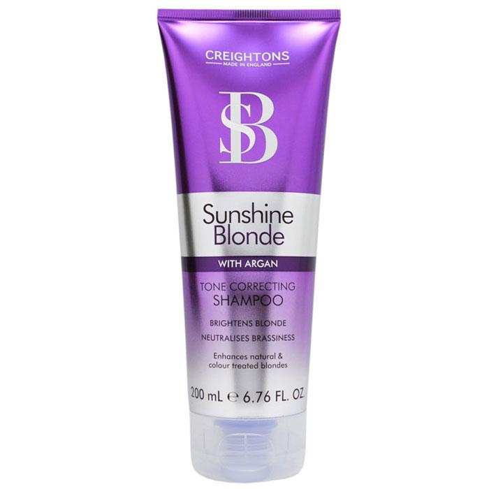 Creightons Шампунь для восстановления и защиты цвета светлых волос, 200 мл4605845001470Шампунь для восстановления и защиты цвета светлых волос препятствует потускнению цвета и делает оттенок блонд свежим и ярким. Масло Арганы заботится о сухих и поврежденных волосах, делая их мягкими и шелковистыми. ИСПОЛЬЗОВАТЬ НЕ ЧАЩЕ 3 РАЗ В НЕДЕЛЮ.