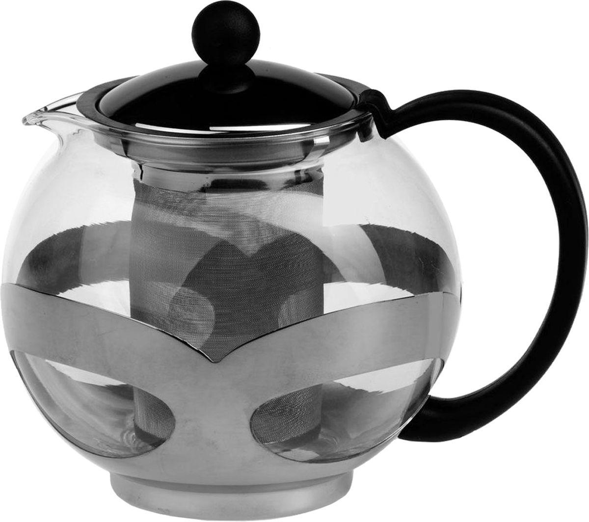 Чайник заварочный Gotoff, 750 мл. 82498249Чайник заварочный стеклян. V=750 мл