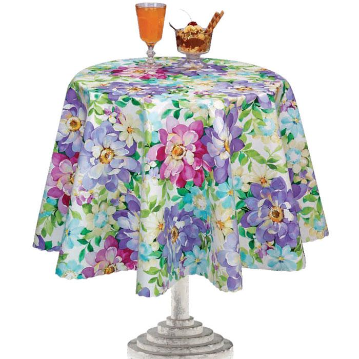 Столовая клеенка LCadesi Florista, прямоугольная, 140 х 200 см. FL140200-132-01FL140200-132-01Столовая клеенка Florista с ярким дизайном украсит ваш стол и защитит его от царапин и пятен. Благодаря основе из нетканого материала не скользит по столу. Клеенка не имеет запаха и совершенно безопасна для человека.