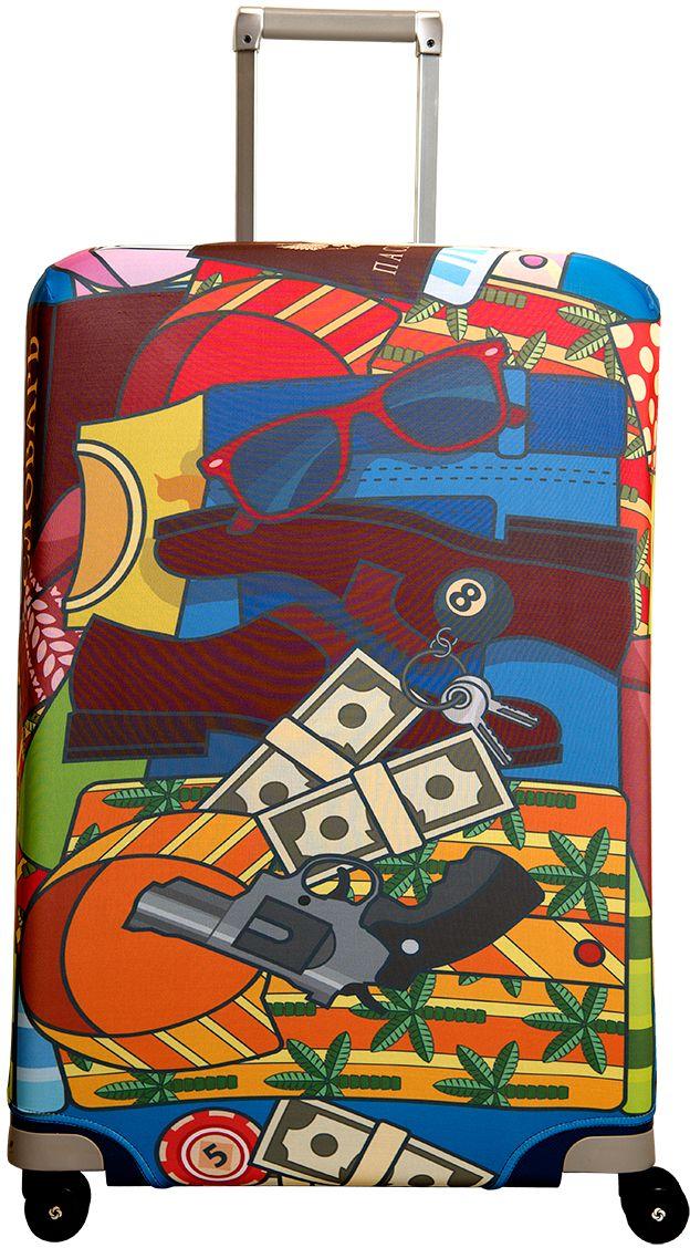 Чехол для чемодана Routemark Fortunatto, размер L/XL (75-85 см)For-L/XLДля больших чемоданов, высотой от 75 до 85 см (29-33 inch) (мерить от пола). Плотность ткани - 240 г/кв.м, упрочнённые швы, 2 потайные молнии для боковых ручек с двух сторон. Внизу чехла - молния трактор, дополнительная резинка с фастексом для лучшей усадки. Стойкая сублимационная печать.