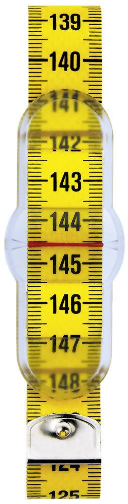 Лента для измерения обхвата талии Prym, с шибером, цвет: желтый, длина 150 см282711Благодаря использованию поливолокнистой ткани Poli-Fiber, измерительные ленты PRYM демонстрируют максимальную гибкость и при этом совершенно стабильны.Точность печати также обеспечивает точность измерения,в том числе благодаря установленным с миллиметровой точностью наконечниками.