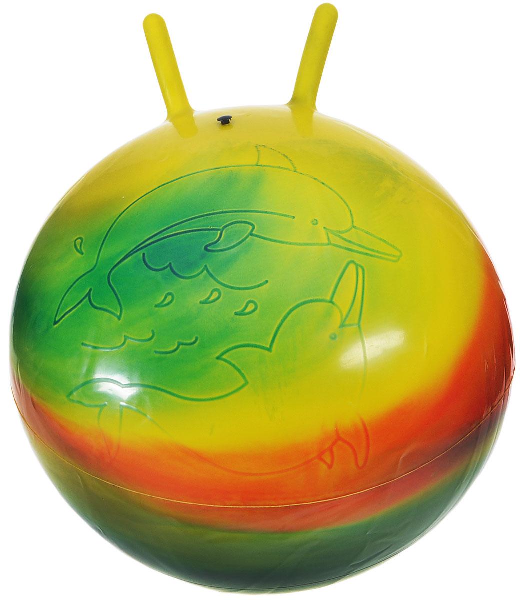 Stantoma Игрушка-попрыгун Мяч с рогами цвет мультиколор 55 см