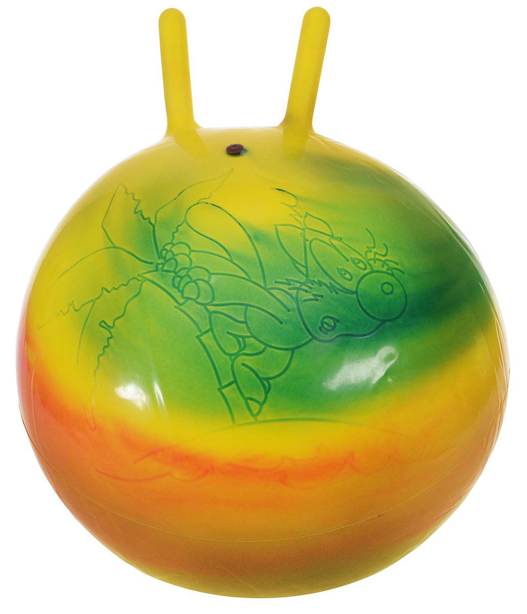 Stantoma Игрушка-попрыгун Мяч с рогами цвет мультиколор 45 см