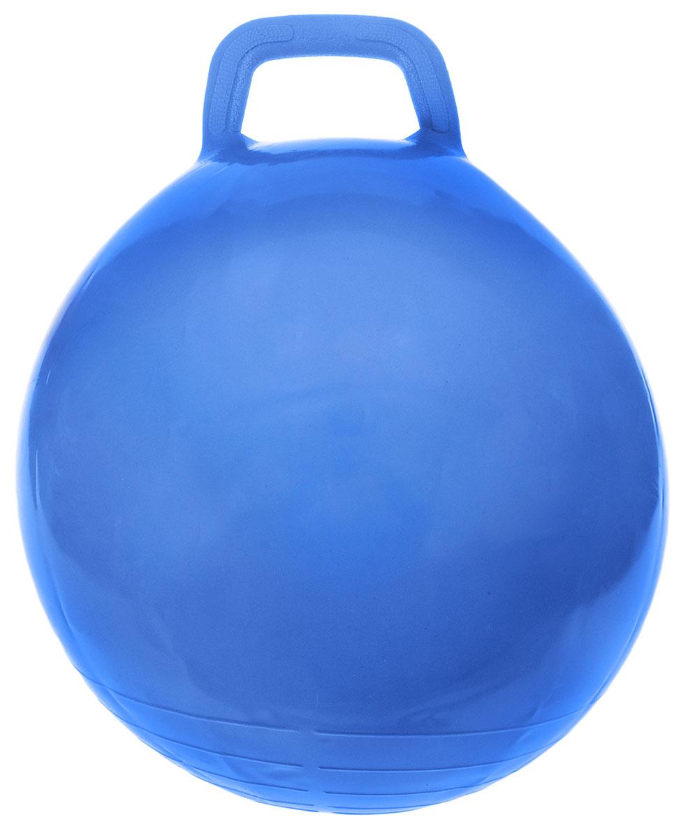 МалышОК! Мяч Прыгун с ручкой цвет синий 50 см
