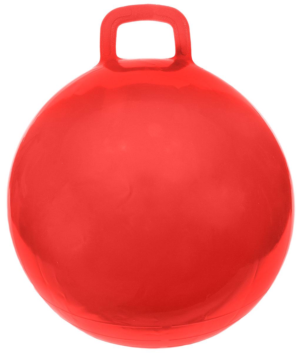 МалышОК! Мяч Прыгун с ручкой цвет красный 50 см