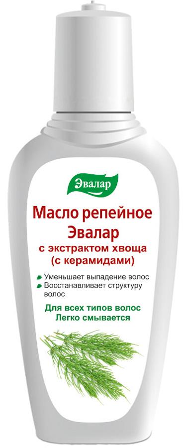 Эвалар Масло репейное с керамидами 100 мл (восстанавливает структуру волос)