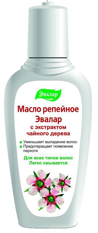 Эвалар Масло репейное с экстрактом чайного дерева 100 мл (антисеборейное)FS-00103Масло австралийского чайного дерева — уникальное сочетание 48 органических элементов. Эфирное масло чайного дерева — прекрасный антисептик. Благодаря высокому содержанию терпенов, обладает сильным бактерицидным и противовоспалительным действием, противовирусной активностью. Антисептический эффект масла чайного дерева используется при зуде, перхоти, выпадении волос. Репейное масло с экстрактом чайного дерева обладает антисеборейным действием, очищает волосяные фолликулы, устраняет повышенную жирность волос.
