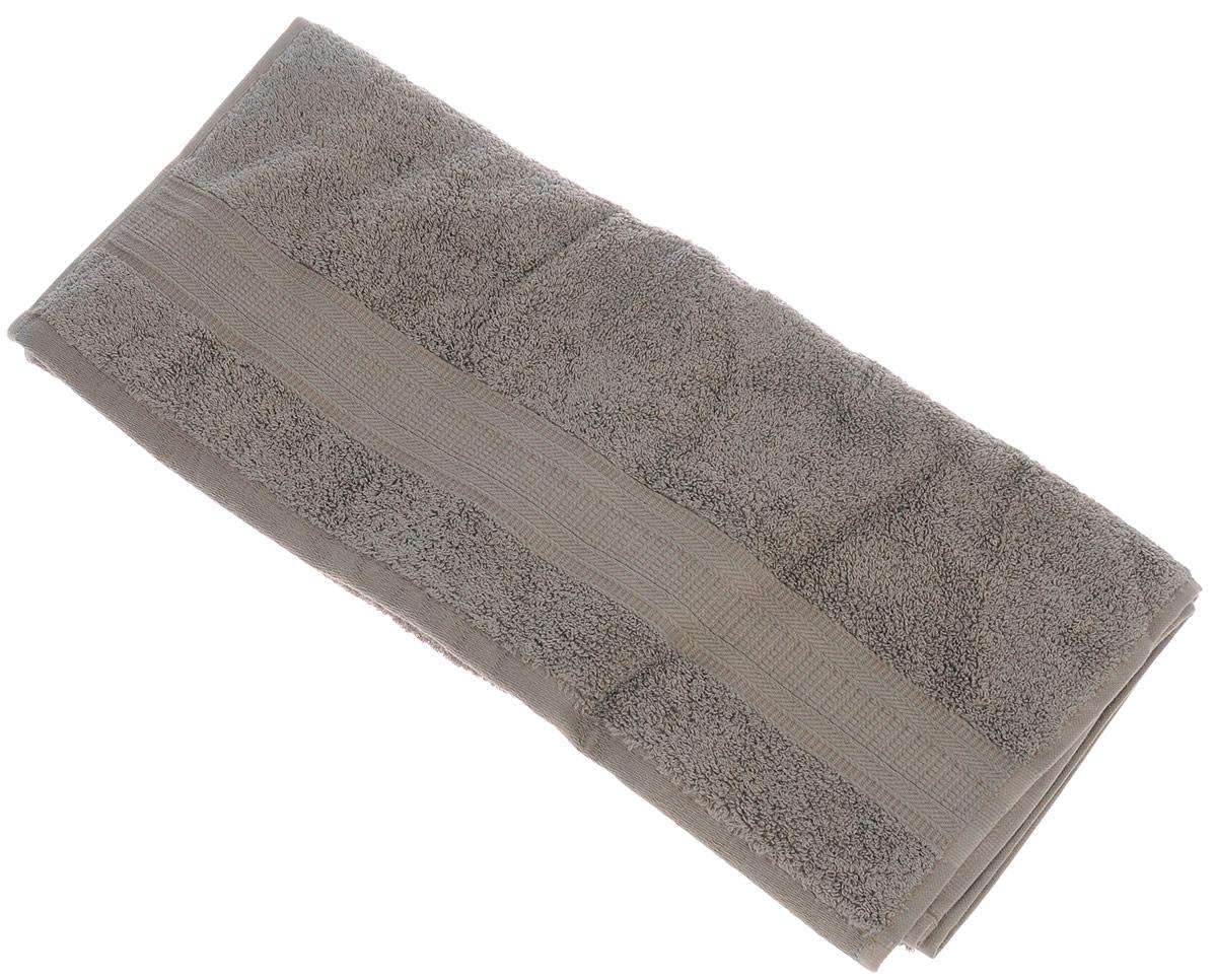 Полотенце TAC Mixandsleep, цвет: кофейный, 50 х 90 см12245Махровое полотенце TAC Mixandsleep выполнено из приятного на ощупь натурального хлопка и декорировано изящным орнаментом. Полотенце прекрасно впитывает влагу и легко стирается.Полотенце TAC Mixandsleep создаст атмосферу уюта и комфорта в вашем доме.Хлопок - это волшебный цветок, хранящий в своем сердце тепло и нежность. Человек начал использовать волокна этих растений еще в глубокой древности. Этот натуральный материал обладает такими свойствами как гигроскопичность и гипоаллергенность.