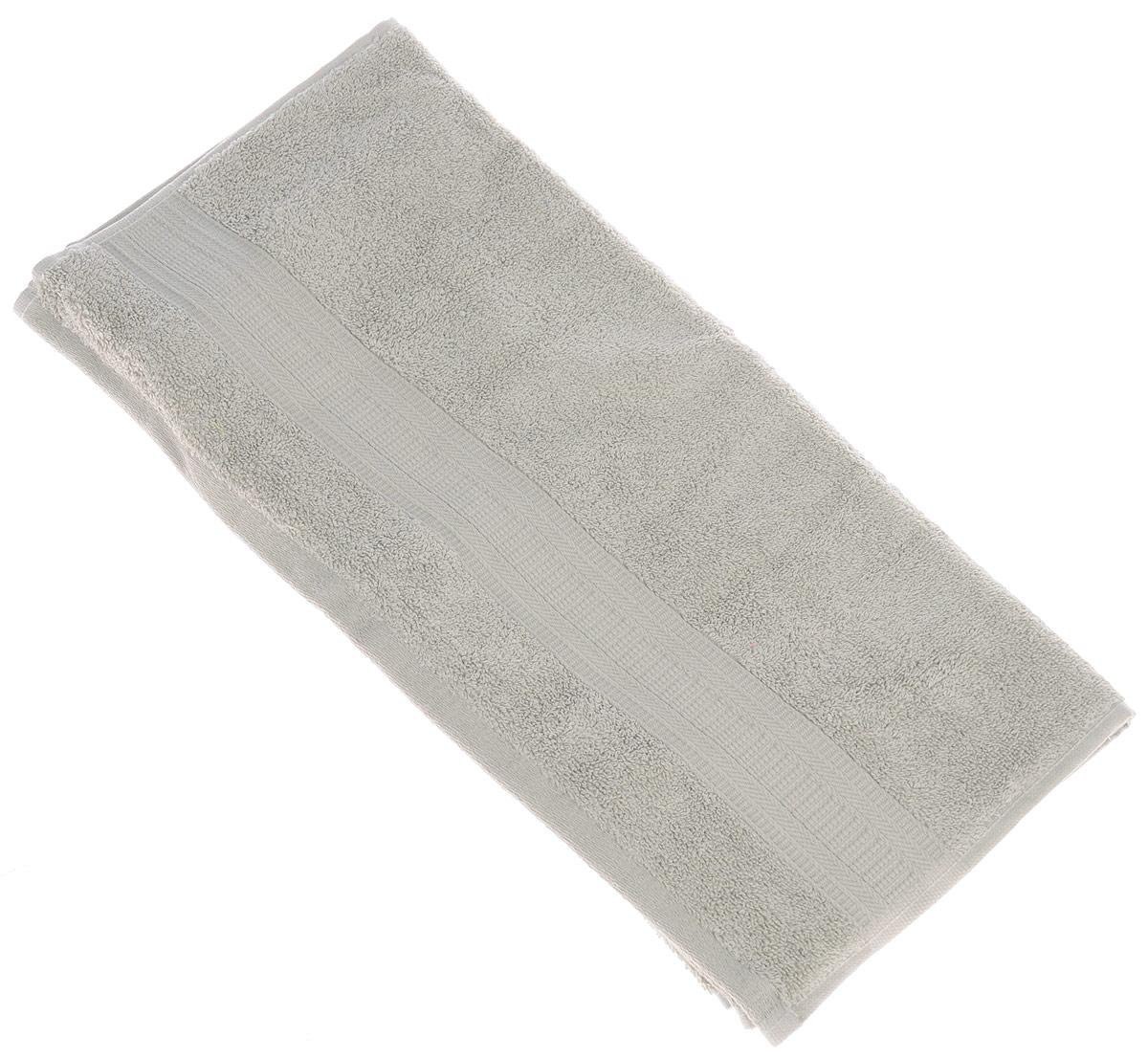 Полотенце TAC Mixandsleep, цвет: серый, 50 х 90 см1201Махровое полотенце TAC Mixandsleep выполнено из приятного на ощупь натурального хлопка и декорировано изящным орнаментом. Полотенце прекрасно впитывает влагу и легко стирается. Полотенце TAC Mixandsleep создаст атмосферу уюта и комфорта в вашем доме. Хлопок - это волшебный цветок, хранящий в своем сердце тепло и нежность. Человек начал использовать волокна этих растений еще в глубокой древности. Этот натуральный материал обладает такими свойствами как гигроскопичность и гипоаллергенность.