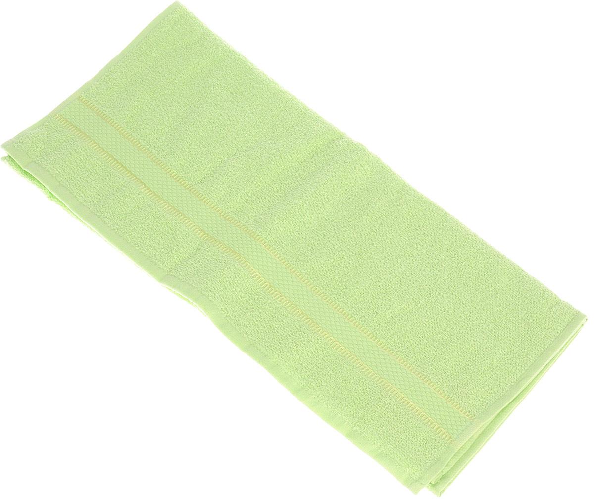 Полотенце Brielle Basic, цвет: зеленый, 50 х 85 см1209Полотенца ТАС Приятно удивляют и дают возможность почувствовать себя творцом окружающего декора. Махровая ткань – официальное название «фроте», народное – «махра». Фроте – это натуральная ткань, поверхность которой состоит из ворса (петель основных нитей). Ворс может быть как одинарным (односторонним), так и двойным (двусторонним).