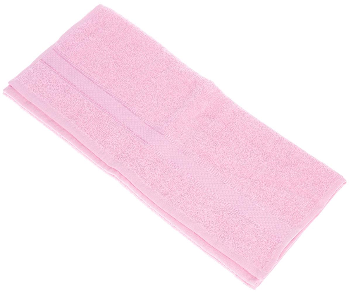 Полотенце Brielle Basic, цвет: розовый, 50 х 85 см1209Полотенца ТАС Приятно удивляют и дают возможность почувствовать себя творцом окружающего декора. Махровая ткань – официальное название «фроте», народное – «махра». Фроте – это натуральная ткань, поверхность которой состоит из ворса (петель основных нитей). Ворс может быть как одинарным (односторонним), так и двойным (двусторонним).