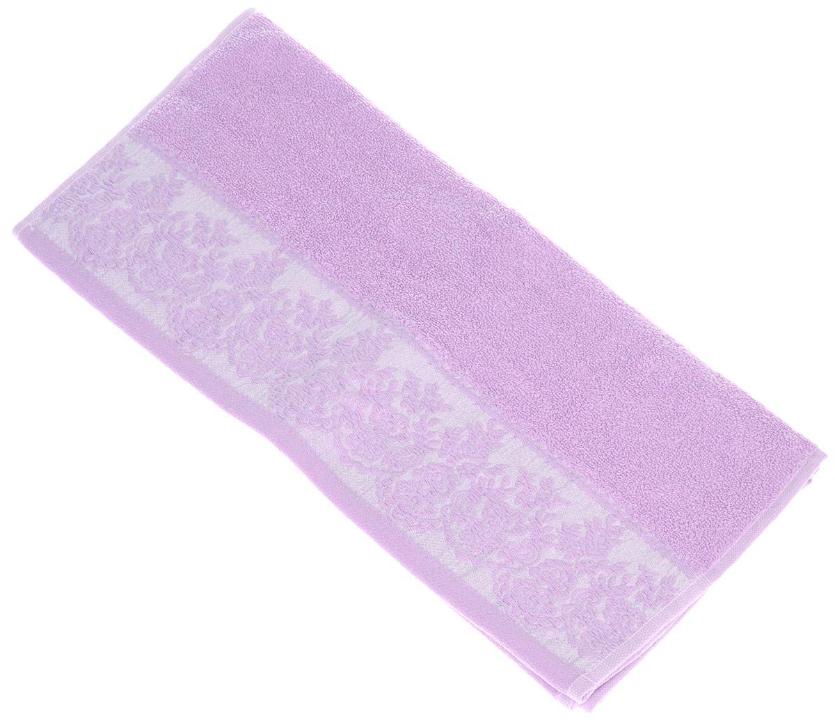 Полотенце Brielle Garden, цвет: пурпурный, 50 х 90 см1203Полотенца ТАС Приятно удивляют и дают возможность почувствовать себя творцом окружающего декора. Махровая ткань – официальное название «фроте», народное – «махра». Фроте – это натуральная ткань, поверхность которой состоит из ворса (петель основных нитей). Ворс может быть как одинарным (односторонним), так и двойным (двусторонним).