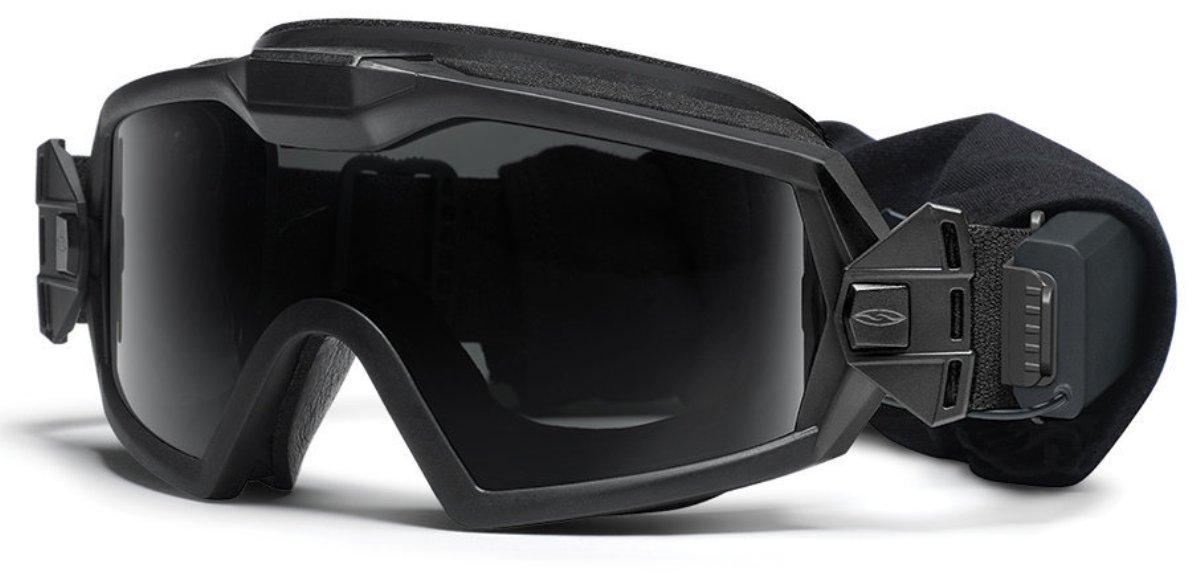 Защитные баллистические очки Smith Optics Outside The Wire Turbo Fan, цвет: черныйOTWTBBK14-2R