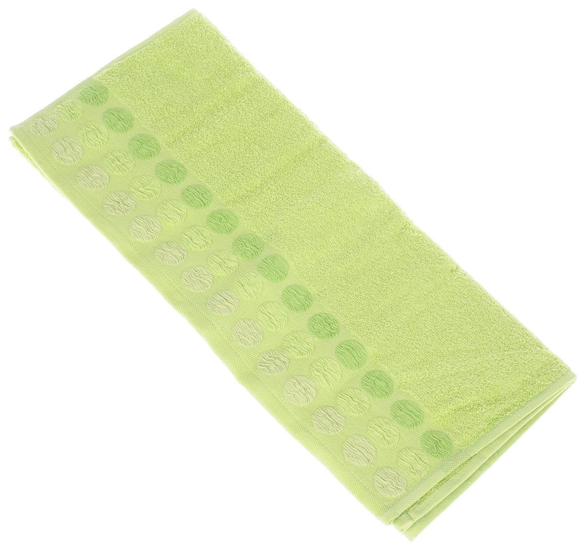 Полотенце Brielle Point, цвет: зеленый, 50 х 90 см1207Полотенце Brielle Point выполнено из 100% хлопка. Изделие очень мягкое, оно отлично впитывает влагу, быстро сохнет, сохраняет яркость цвета и не теряет формы даже после многократных стирок. Модель оформлена рисунком. Полотенце Brielle Point очень практично и неприхотливо в уходе. Такое полотенце послужит приятным подарком.