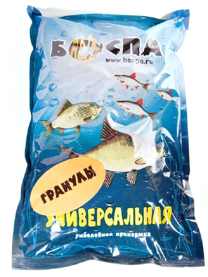 Прикормка Боспа Стандарт. Гранулы Универсальные, пакет, 800 гJBL7103300Гранулы предназначены для постоянного прикармливания рыбы в месте ловли. Состав универсален на любую белую рыбу. Удобно использовать при ловли уклейки. Позволяет приучить рыбу к месту, выработать у нее рефлекс на кормление. Особые ингредиенты тщательно подобраны для большей эффективности. Прикормка подходит для стоячих водоемов, речек, имеет максимальный результат и не пачкает руки. Эффективность состава подтверждена многими рыбаками-профессионалами.
