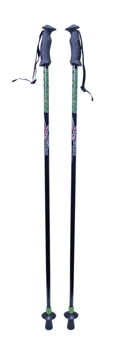 Палки для скандинавской ходьбы с двухкомпонентной ручкой, 110 см, 2 шт
