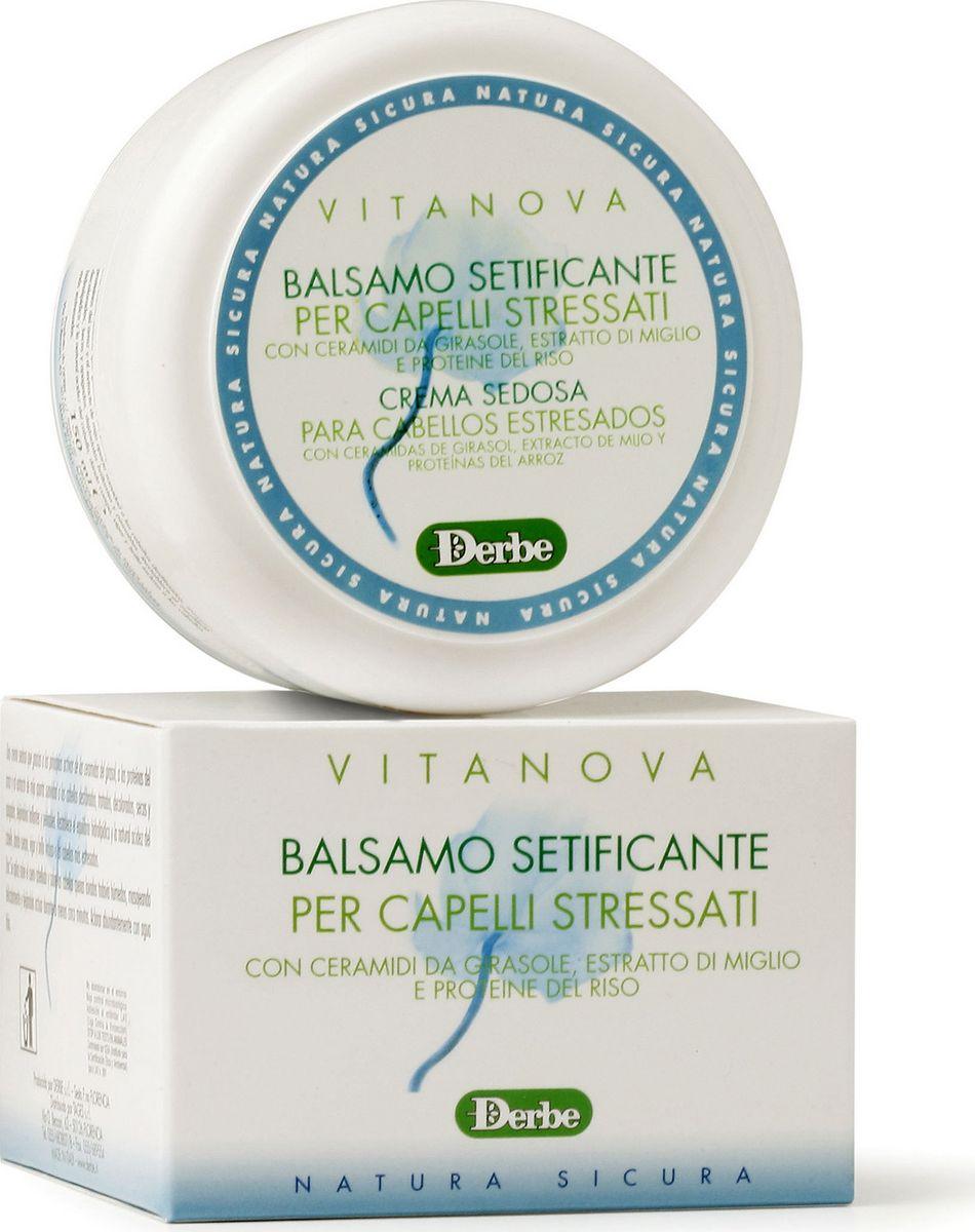 Derbe Кондиционер для волос с экстрактом проса Vitanova, 150 млA905081004Мягкий бальзам-кондиционер составляет идеальную пару с шампунем этой линии для ухода за сухими, поврежденными и ослабленными волосами. Бальзам содержит растительные экстракты - керамиды подсолнечника, экстракты проса и риса. Этот успокаивающий бальзам придаст мягкость вашим волосам (подвергающихся окрашиванию, завивке, частой сушке горячим воздухом, пребыванию на солнце и пр.). Бальзам мгновенно сделает их блестящими. Он восстанавливает уровень влажности волос, придавая им силу и блеск. Как результат - ваши волосы легко расчесываются и переливаются как шелк. Линия «DERBE» является 100% натуральной, поэтому все наши средства не содержат синтетические консерванты (парабены, феноксиэтанол), производные нефтепродуктов и минеральные масла, лаурил\лаурет сульфаты, силиконы, генномодифицированные компоненты. Производство наших средств полностью безопасно для природы. Производитель использует специальную упаковку, пригодную для вторичной переработки. По этой причине наши продукты не имеют...