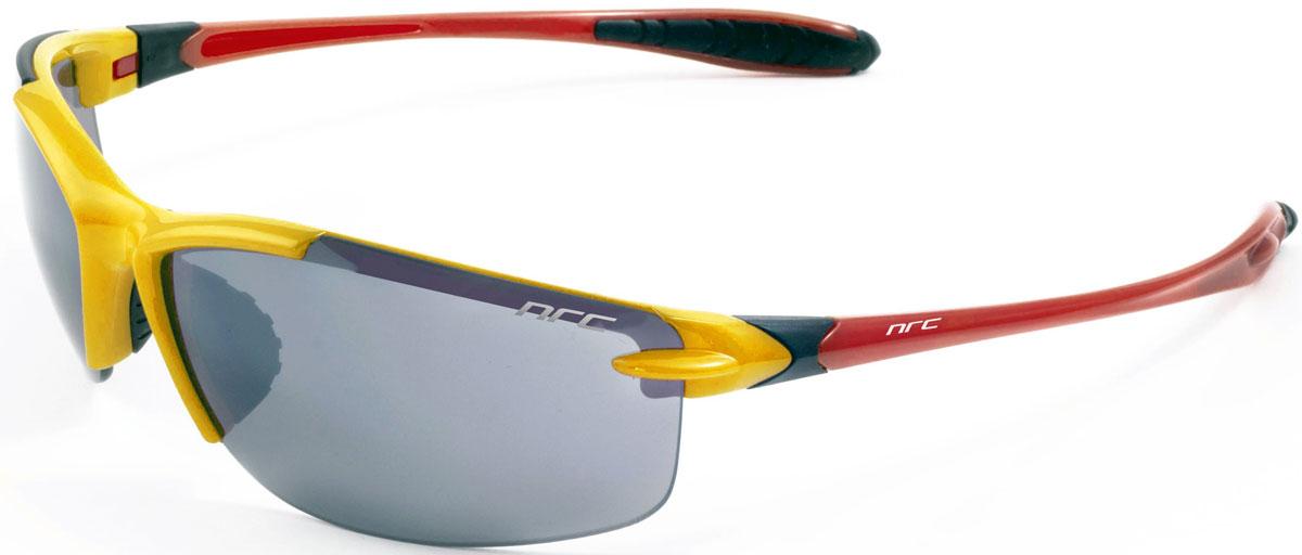 Очки солнцезащитные NRC, цвет: желый. 2104221042Бренд NRC представляет очки, предназначенные как для езды на велосипеде, так и для многих других видов спорта. NRC известен собственными фирменными разработками, адаптирующими очки под разные климатические условия, различное время суток, степень освещенности, а также под индивидуальные потребности каждого конкретного пользователя. Очки блестящие(глянцевые) белые с испанским триколором Дымчатые фотохромные линзы Материал оправы – нейлон (TR90) Оправа - сверхлегкая и удобная Материал линзы - поликарбонат (РС) Особенности линзы - фотохромная Покрытие –защитное от царапин[NOSCRATCH] Прозрачность -17% Категория фильтра -2 Вес -20,6 г Кривизна (изгиб) -8
