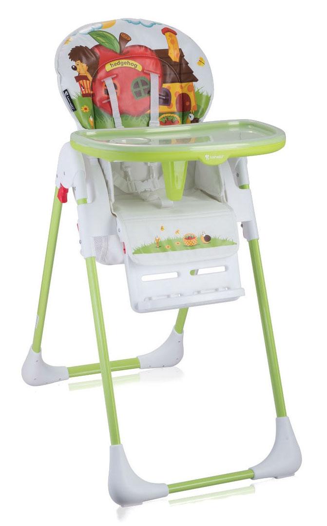 Lorelli Стульчик для кормления Tutti Frutti Hedgehog цвет зеленый