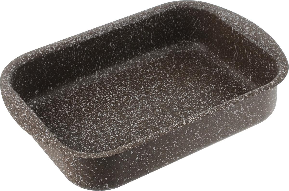 Форма для запекания Fissman Модерн, с антипригарным покрытием, 25 x 18 х 6 смAL-4996.25Форма для запекания Fissman изготовлена из качественного алюминия с антипригарным покрытием TouchStone. Не содержит в составе вредных веществ. Одним из главных преимуществ является система многослойного сверхпрочного антипригарного покрытия TouchStone, состоящего из нескольких слоев натуральной каменной крошки на основе минеральных компонентов. Такая форма найдет свое применение для выпечки большинства кулинарных шедевров. Форма равномерно и быстро прогревается, выпечка пропекается равномерно. Благодаря антипригарному покрытию, готовый продукт легко вынимается, а чистка формы не составит большого труда. Какое бы блюдо вы не приготовили, результат будет превосходным! Форма подходит для использования в духовке с максимальной температурой 240°С. Чтобы избежать повреждений антипригарного покрытия, не используйте металлические или острые кухонные принадлежности. Разрешена мойка в посудомоечной машине. Размер формы (по верхнему краю): 25...