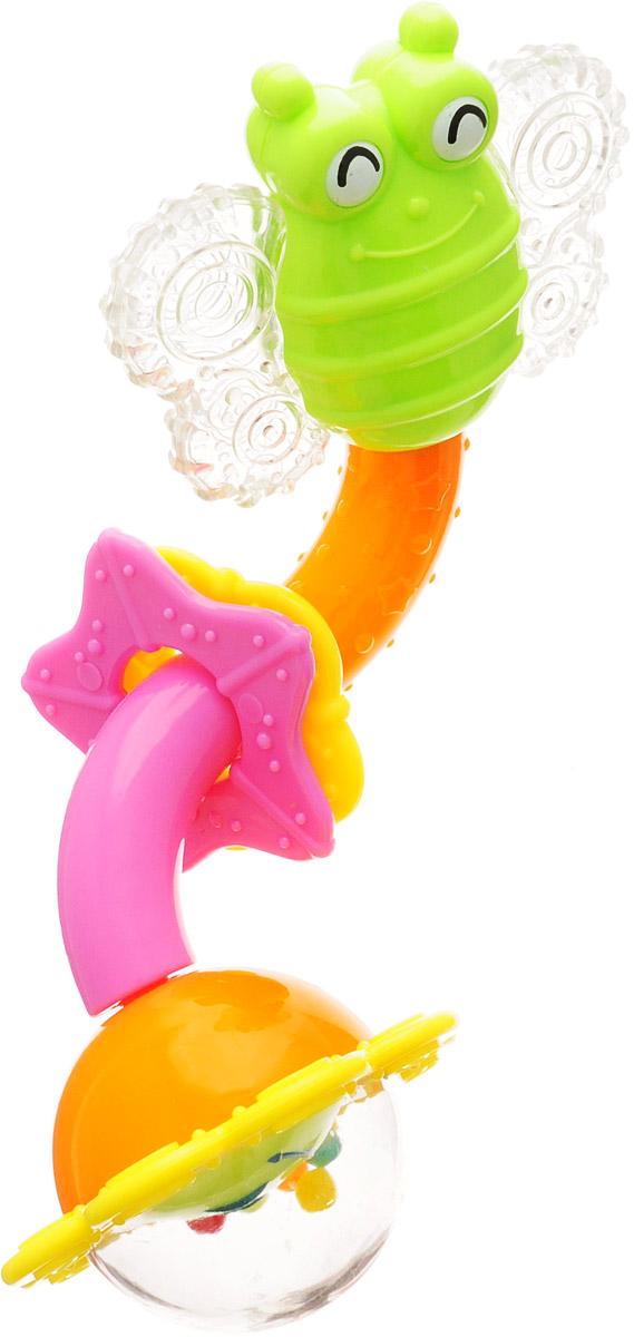 Ути-Пути Погремушка цвет салатовый желтый оранжевый