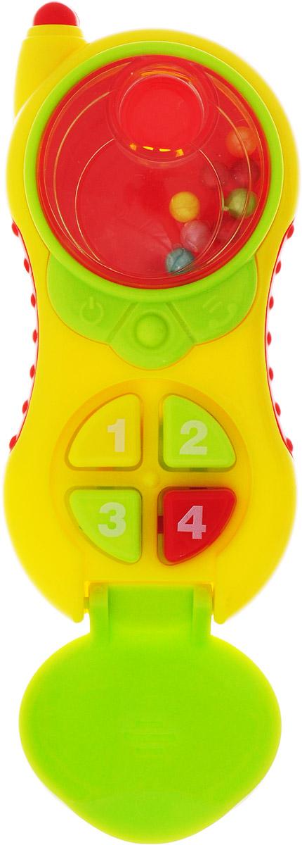 Ути-Пути Погремушка Телефон цвет желтый