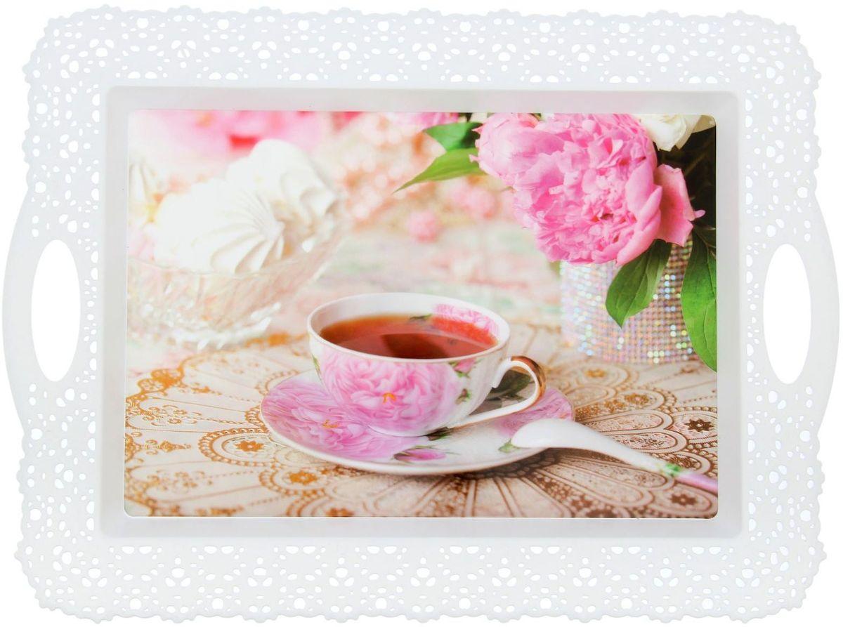 Поднос Fimako К чаю, 44 х 32 х 1 см1552014От качества посуды зависит не только вкус еды, но и здоровье человека. Любой хозяйке будет приятно держать его в руках. С посудой и кухонной утварью Fimako приготовление еды и сервировка стола превратятся в настоящий праздник.