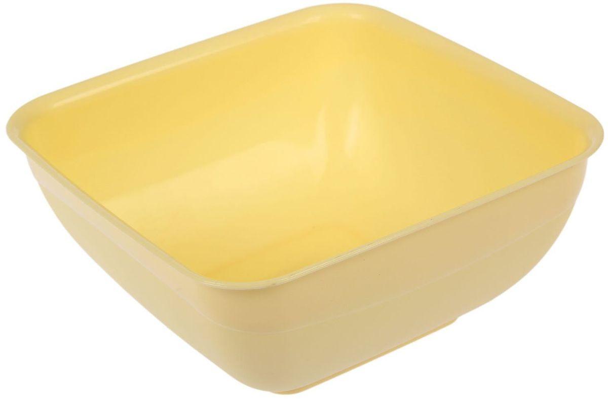 Салатник Fimako, цвет: лимонный, 2 л115610От качества посуды зависит не только вкус еды, но и здоровье человека. Любой хозяйке будет приятно держать его в руках. С посудой и кухонной утварью Fimako приготовление еды и сервировка стола превратятся в настоящий праздник.