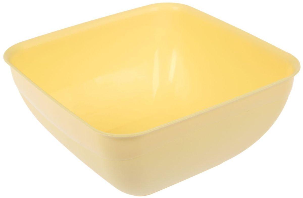 Салатник Fimako, цвет: лимонный, 3 л115510От качества посуды зависит не только вкус еды, но и здоровье человека. Любой хозяйке будет приятно держать его в руках. С посудой и кухонной утварью Fimako приготовление еды и сервировка стола превратятся в настоящий праздник.