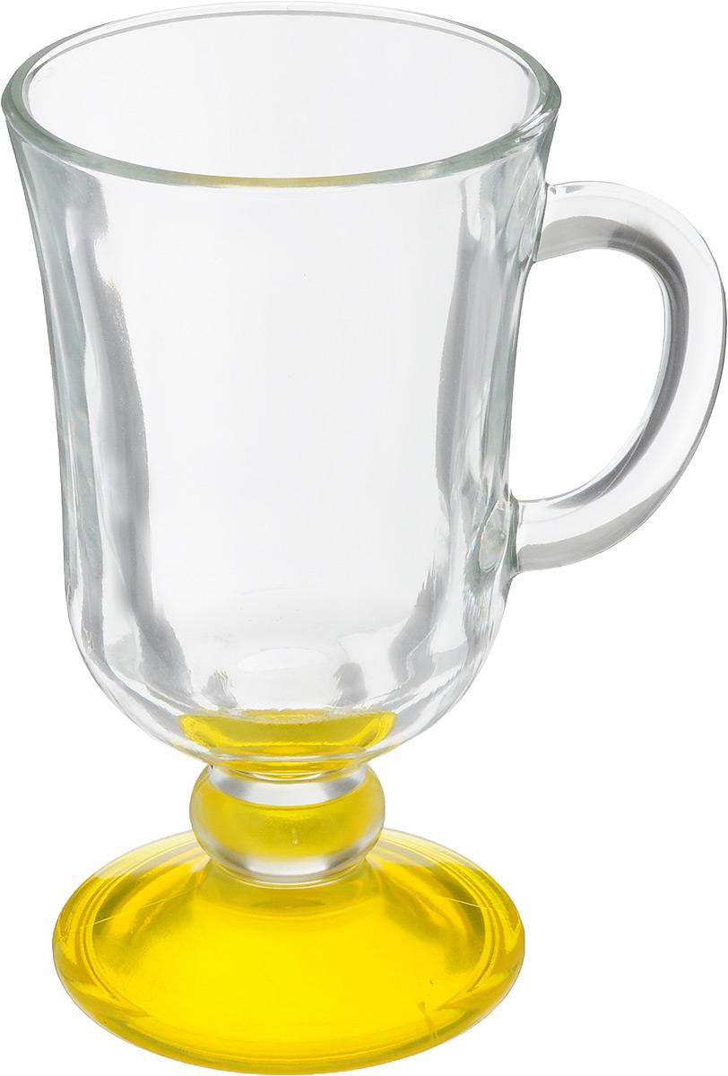 Кружка OSZ Глинтвейн, цвет: прозрачный, желтый, 200 мл08C1405LM_прозрачный, желтыйКружка OSZ Глинтвейн изготовлена из стекла двух цветов. Изделие идеально подходит для сервировки стола. Кружка не только украсит ваш кухонный стол, но подчеркнет прекрасный вкус хозяйки. Диаметр кружки (по верхнему краю): 7,5 см. Высота ножки: 3,5 см. Высота кружки: 14 см. Объем кружки: 200 мл.