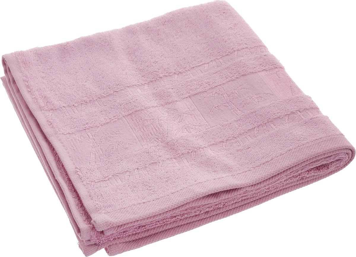 Полотенце Brielle Bamboo, цвет: розовый, 50 х 90 см1212Полотенца ТАС Приятно удивляют и дают возможность почувствовать себя творцом окружающего декора. Махровая ткань – официальное название «фроте», народное – «махра». Фроте – это натуральная ткань, поверхность которой состоит из ворса (петель основных нитей). Ворс может быть как одинарным (односторонним), так и двойным (двусторонним).