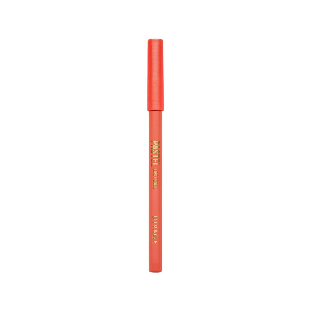 Divage Карандаш Для Губ Pastel - Тон № 220728420_красныйМягкий карандаш подчеркивает контур губ, делая их форму более выразительной. Карандаш имеет удобную форму треугольника, благодаря которой не скатывается с плоской поверхности. Содержит смягчающие масла жожоба, соевых бобов, экстракт алоэ вера, витамины Е. Масло жожоба и соевых бобов придаёт контуру кондиционирующее и смягчающее свойства. Оно регулирует водно-липидный баланс, предохраняя кожу губ от сухости. Открой для себя сочетание глубокого цвета и деликатного ухода с карандашами PASTEL от DIVAGE!