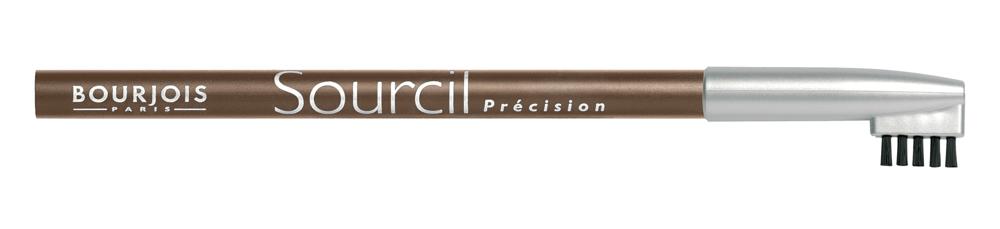 Bourjois Карандаш Для Бровей Контурный Sourcil Precision Тон 041301207Брови играют решающую роль в характере взгляда. Плотная текстура карандаша позволяет наполнить брови красивым, натуральным цветом. Идеальная щеточка придает бровям безупречный вид. Карандаш Sourcil Precision не растекается и позволяет при желании изменить форму брови.