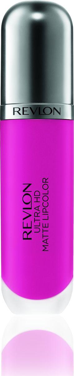 Revlon Помада Для Губ Ultra Hd Matte Lipcolor Spark 6505010777142037Revlon Ultra HD™ Matte Lipcolor - бархатный цвет на твоих губах. Уникальная гелевая формула создает невесомую текстуру, а отсутствие воска сохраняет губы увлажненными и придает ощущение комфорта. Легкость нанесения, устойчивость и удобный апликатор – вот почему помада идеально ложиться на губы, придавая им яркий, насыщенный цвет и объем. Обладает приятным ароматом сливок, ванили и спелого манго. Доступен в 7 ярких, трендовых оттенках.