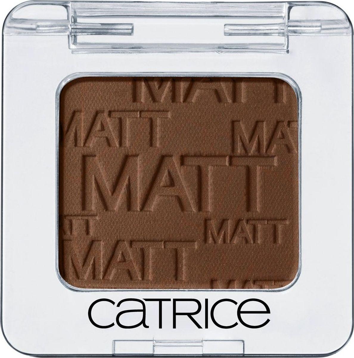 Catrice Тени для век одинарные Absolute Eye Colour 930 Hakuna MATTata коричневый матовый 2 гр54360Высокопигментированные пудровые тени, широкая цветовая гамма, стойкость, легкость в нанесении и разнообразие эффектов.