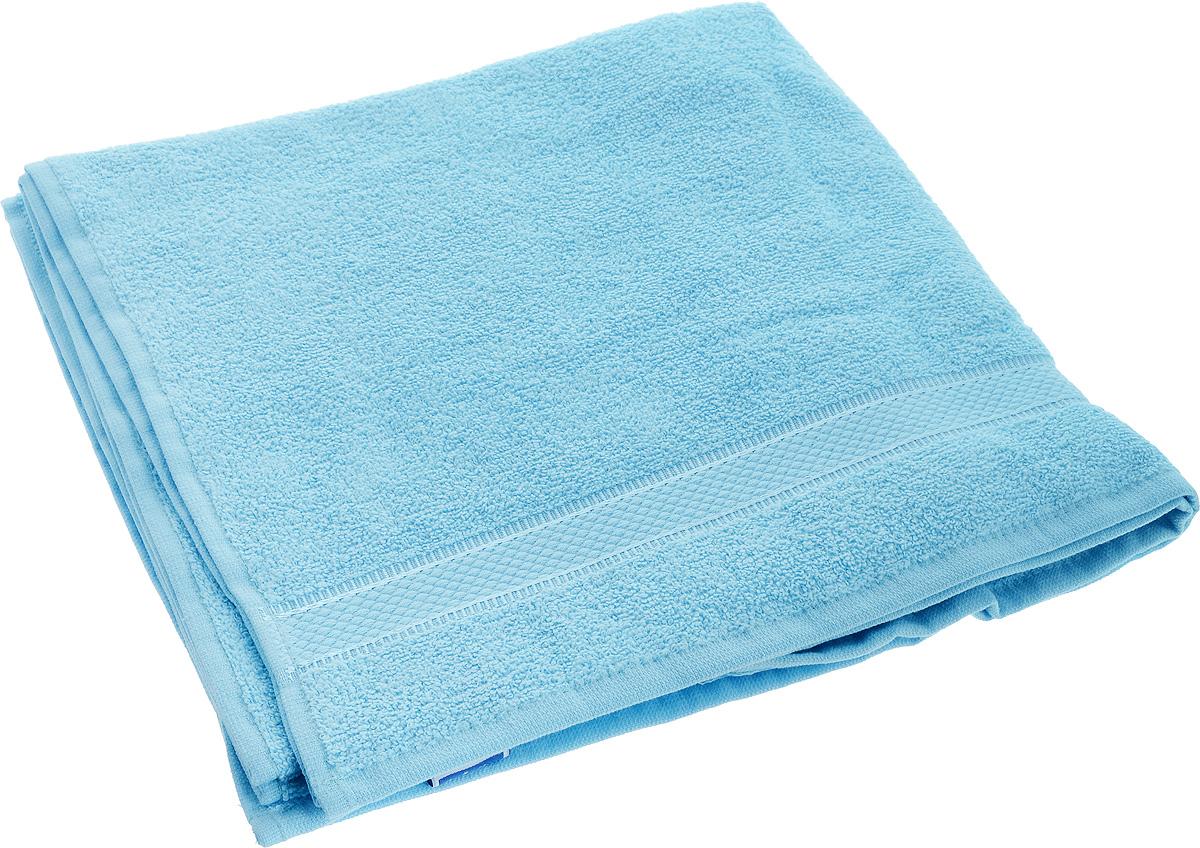 Полотенце Brielle Basic, цвет: голубой, 70 х 140 см1210Полотенце Brielle Basic выполнено из натурального хлопка. Изделие очень мягкое, оно отлично впитывает влагу, быстро сохнет, сохраняет яркость цвета и не теряет формы даже после многократных стирок. Полотенце Brielle Basic очень практично и неприхотливо в уходе. Такое полотенце послужит приятным подарком.