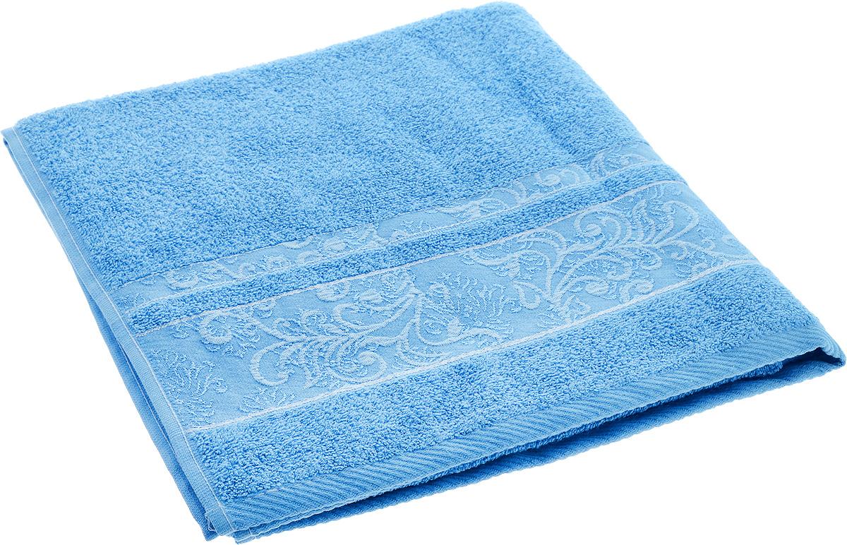 Полотенце Brielle Sarmasik, цвет: синий, 70 х 140 см1206Полотенце Brielle Sarmasik выполнено из натурального хлопка. Изделие очень мягкое, оно отлично впитывает влагу, быстро сохнет, сохраняет яркость цвета и не теряет формы даже после многократных стирок. Модель оформлена узором. Полотенце Brielle Sarmasik очень практично и неприхотливо в уходе. Такое полотенце послужит приятным подарком.