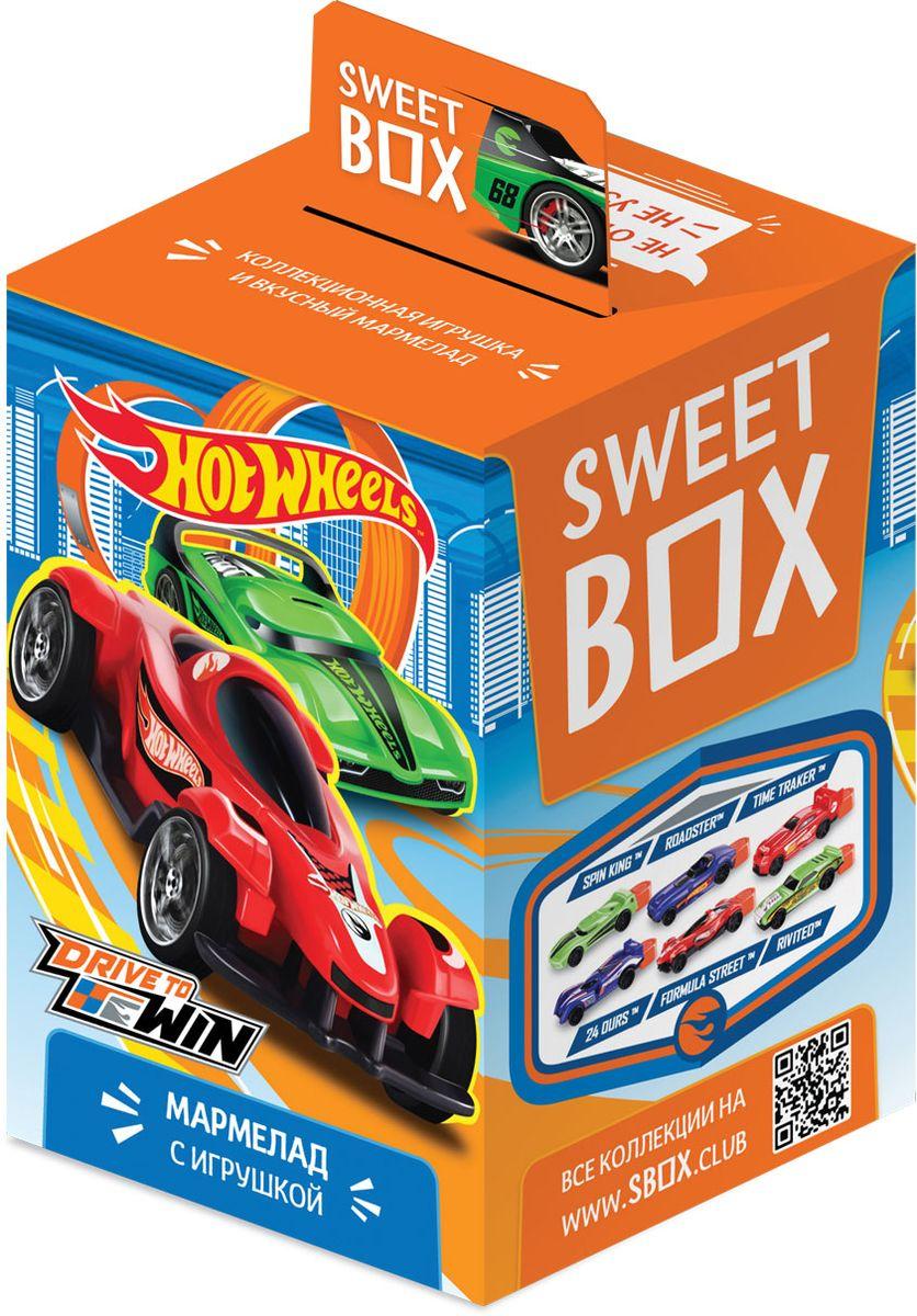 Sweet Box Hot Wheels жевательный мармелад с игрушкой, 10 г0120710Новая коллекция больших 3D-игрушек в форме крутых гоночных машин в лицензии Hot Wheels. Популярный бренд, выпускающий первоклассные модели машинок. В каждой коробочке вкусный мармелад с фруктовыми вкусами! 6 машинок в коллекции.