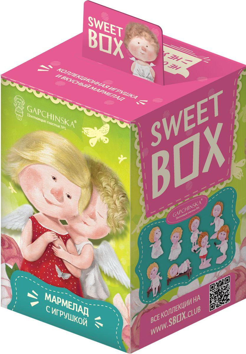 Sweet Box Гапчинская жевательный мармелад с игрушкой, 10 г0120710В каждой коробочке коллекционная 3Д игрушка Гапчинская в индивидуальном пакетике с дизайном и лифлетом. Лифлет лежит в пакетике с игрушкой. 8 игрушек в коллекции.