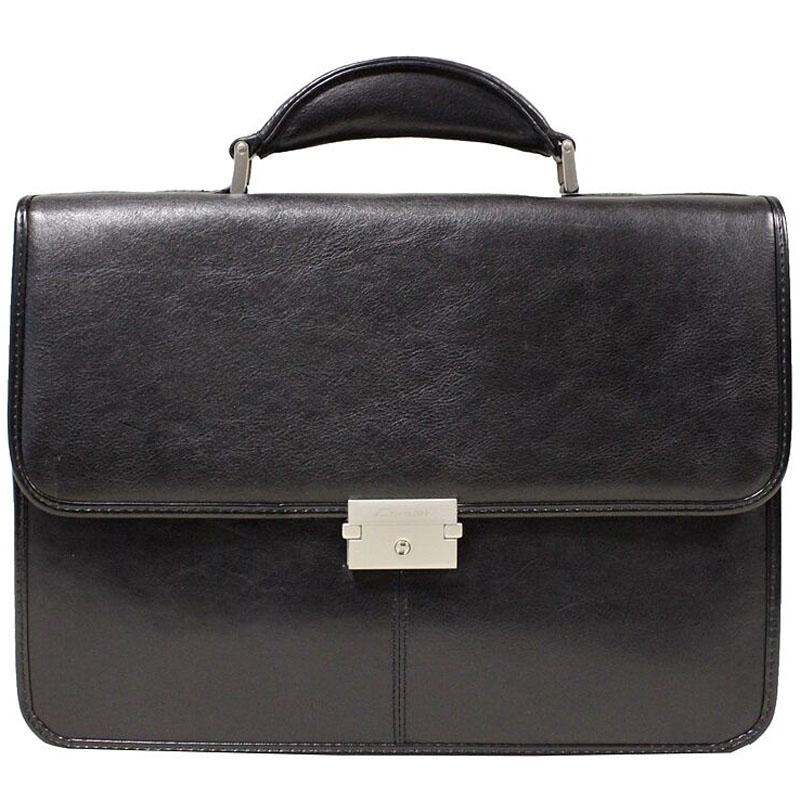 Портфель мужской Cavalet, цвет: черный. 111-34 black