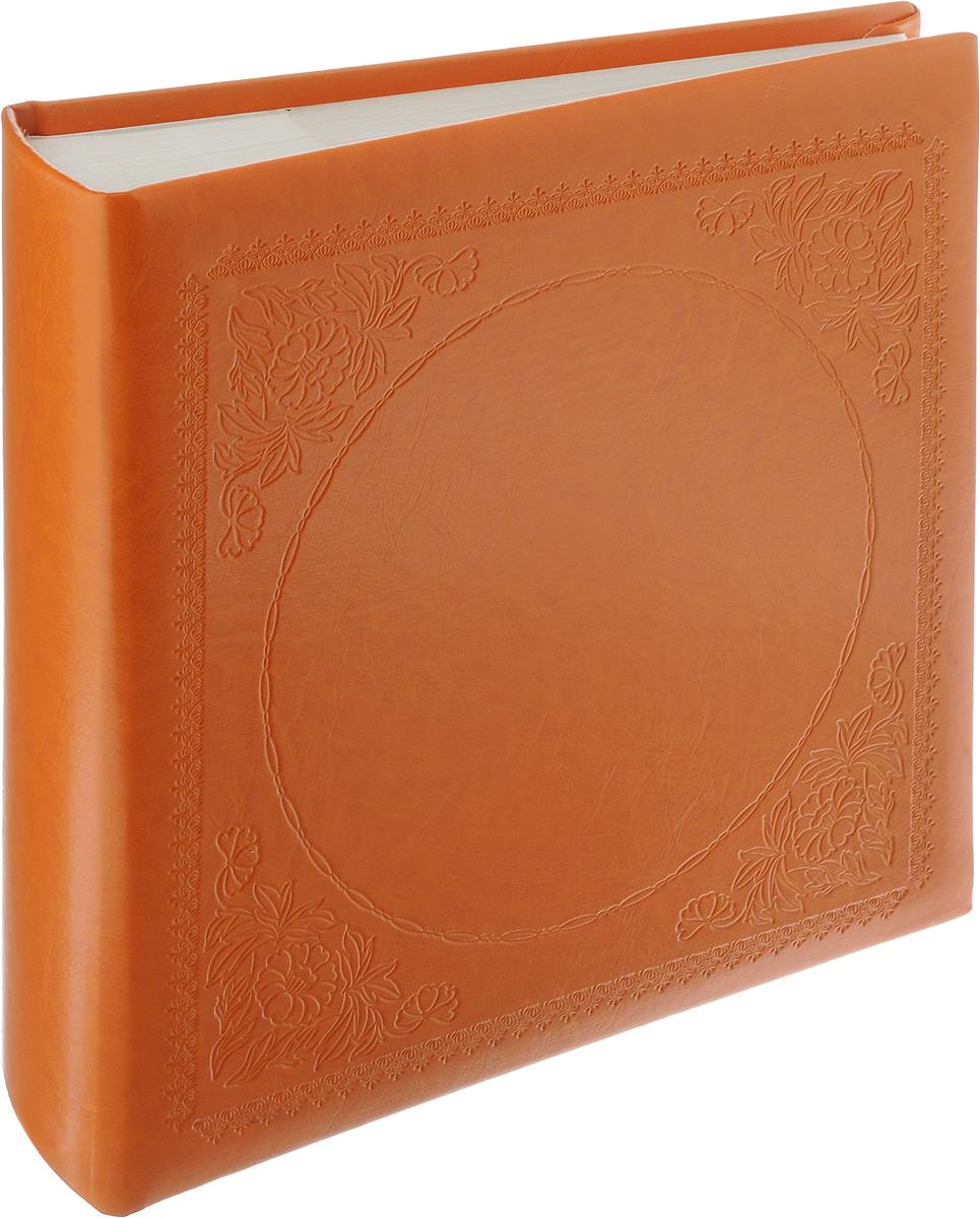 """Фотоальбом Pioneer """"Glossy Leathern"""", 200 фотографий, цвет: оранжевый, 10 x 15 см 46834 LT-4R200PPBB/W"""