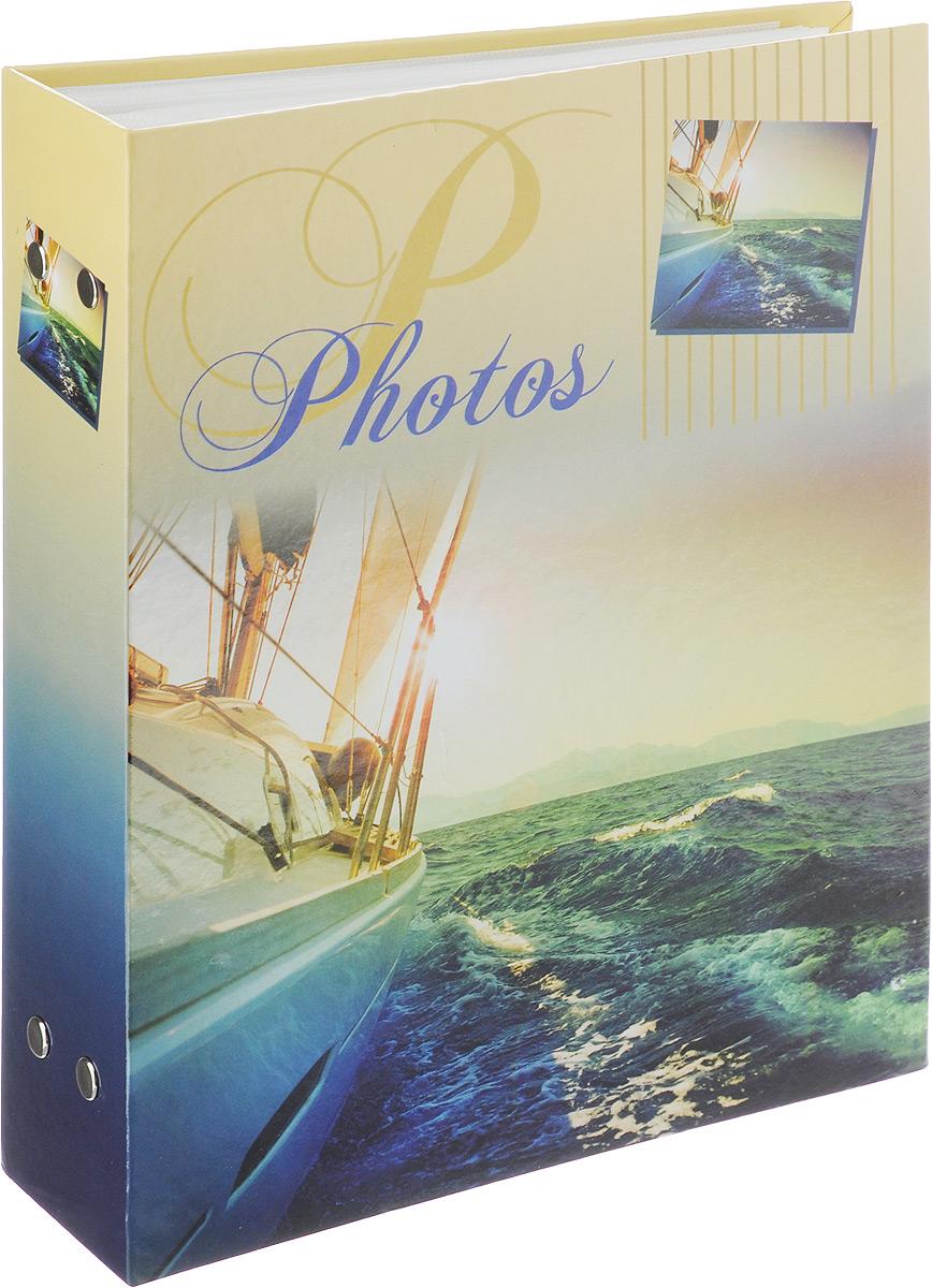 Фотоальбом Pioneer Blue Sea, 200 фотографий, цвет: синий, желтый, 10 x 15 см46210 PP-46200Фотоальбом Pioneer Blue Sea поможет красиво оформить ваши самые интересные фотографии. Обложка из толстого ламинированного картона оформлена ярким принтом. Фотоальбом рассчитан на 200 фотографий форматом 10 x 15 см. Внутри содержится блок из 50 листов с окошками из полипропилена, одна страница оформлена двумя окошками для фотографий. Такой необычный фотоальбом позволит легко заполнить страницы вашей истории, и с годами ничего не забудется. Тип обложки: картон. Тип листов: полипропиленовые. Тип переплета: высокочастотная сварка. Материалы, использованные в изготовлении альбома, обеспечивают высокое качество хранения ваших фотографий, поэтому фотографии не желтеют со временем.