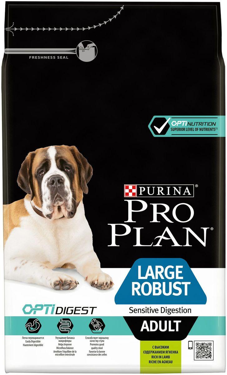 Корм сухой Pro Plan Adult Large Robust для взрослых собак крупных пород с мощным телосложением, с комплексом Optihealth, с ягненком, 3 кг0120710Оптимальное питание является основой для здоровья и благополучия. Разработанный нашими ветеринарами и диетололгами корм Purina® PRO PLAN® с комплексом OPTIHEALTH® обеспечивает самое современное питание, которое оказывает долгосрочное влияние на здоровье собаки. Комплекс OPTIHEALTH® представляет сочетание специально отобранных питательных веществ для собак разных размеров и телосложения, который отвечает их особым потребностям и помогает сохранить отличное состояние.МЕ/кг:витамин A: 20 000; витамин D3: 650; витамин E: 550. Мг/кг: витамин C: 140; железо: 63; йод: 1,6; медь: 9,9; марганец: 30; цинк: 120; селен: 0,10. Белок: 26%, жир: 12%, сырая зола: 7,5%, сырая клетчатка: 2,5%.
