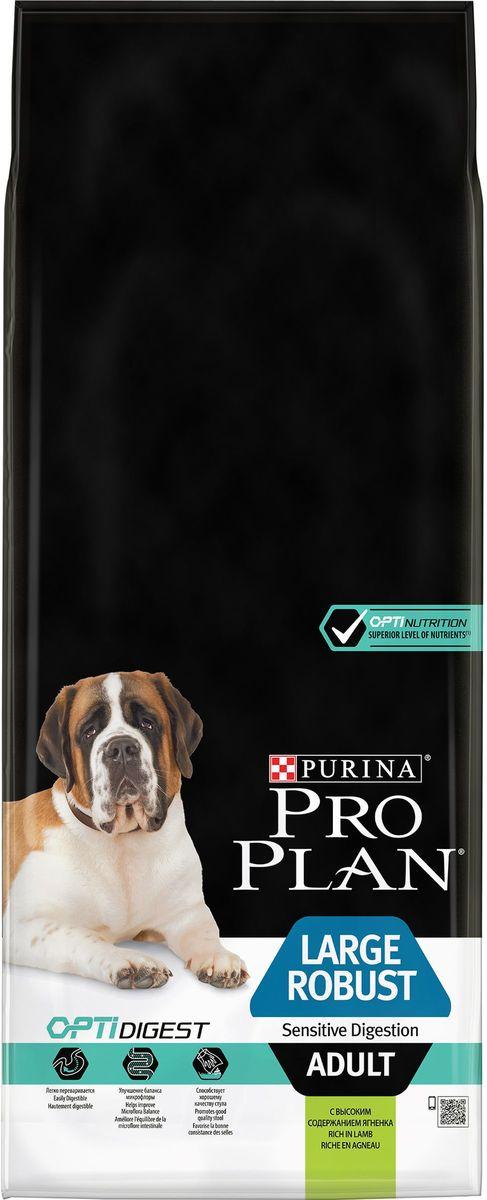Корм сухой Pro Plan Adult Large Robust для взрослых собак крупных пород с мощным телосложением, с комплексом Optihealth, с ягненком, 14 кг65276Оптимальное питание является основой для здоровья и благополучия. Разработанный нашими ветеринарами и диетололгами корм Purina® PRO PLAN® с комплексом OPTIHEALTH® обеспечивает самое современное питание, которое оказывает долгосрочное влияние на здоровье собаки. Комплекс OPTIHEALTH® представляет сочетание специально отобранных питательных веществ для собак разных размеров и телосложения, который отвечает их особым потребностям и помогает сохранить отличное состояние. МЕ/кг:витамин A: 20 000; витамин D3: 650; витамин E: 550. Мг/кг: витамин C: 140; железо: 63; йод: 1,6; медь: 9,9; марганец: 30; цинк: 120; селен: 0,10. Белок: 26%, жир: 12%, сырая зола: 7,5%, сырая клетчатка: 2,5%.
